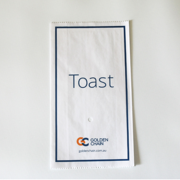 Golden Chain Toast Bags